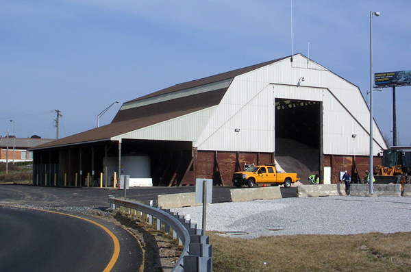 Moravia Salt Storage Facility - Tech Contracting Company Project
